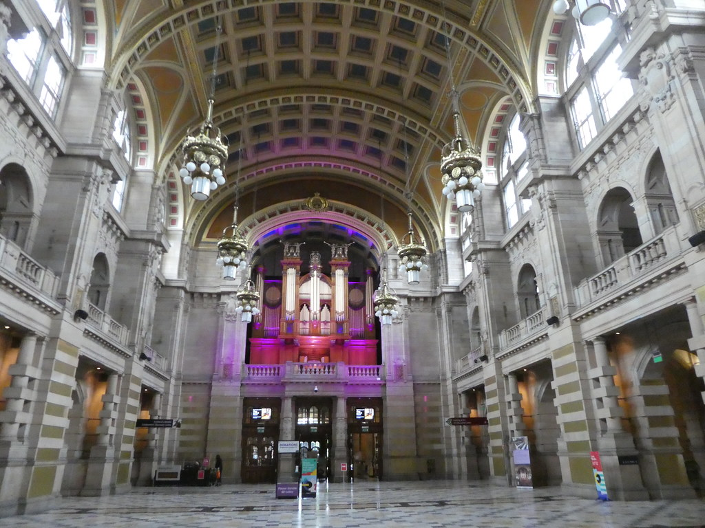 The Central Hall, Kelvingrove Art Gallery and Museum, Glasgow