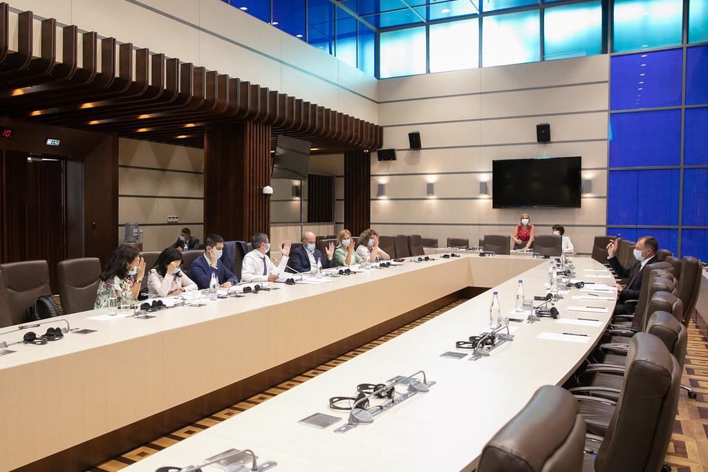 29.07.2021 Ședința Biroului permanent al Parlamentului
