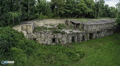 Fort DuPont Bunker Aerial Photo