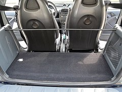 Original Smart Fortwo 450 fixing bar for luggage storage bag and / or luggage compartment cover