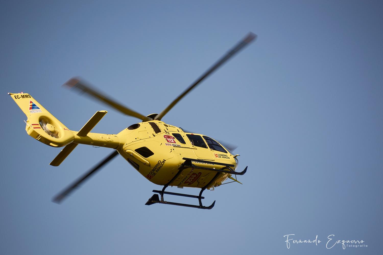 Airbus Eurocopter EC135 T3 del 112 de Aragón