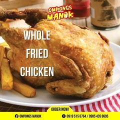 @ompongsmanok is now selling Whole Fried Chicken. Order Now!