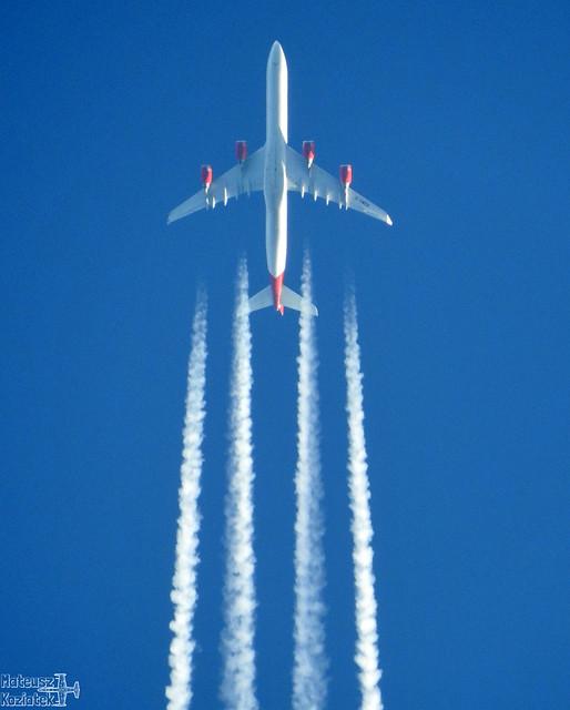 Virgin Atlantic Airways 🇬🇧️ Airbus A340-600 G-VWEB