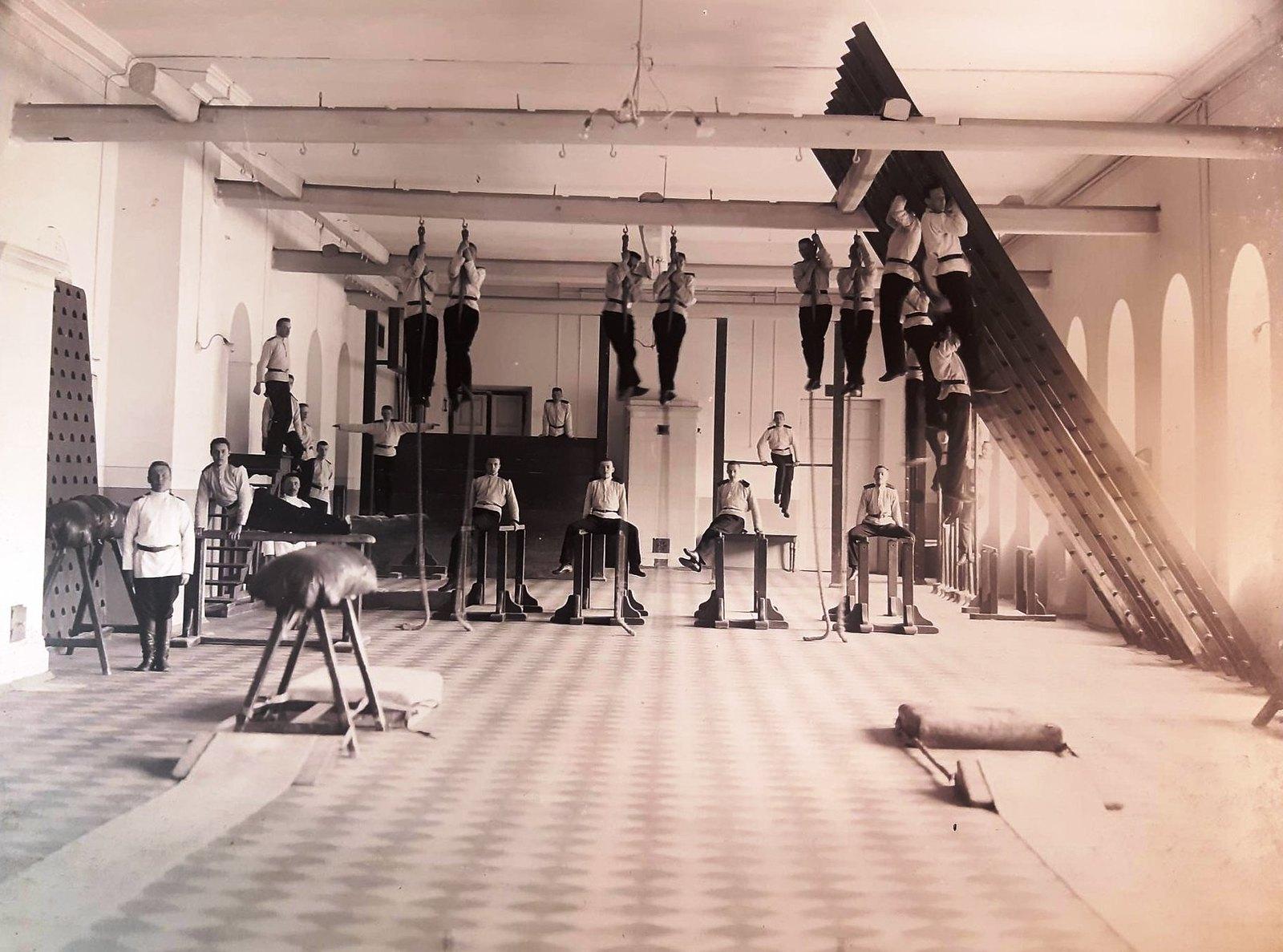 61. Урок гимнастики