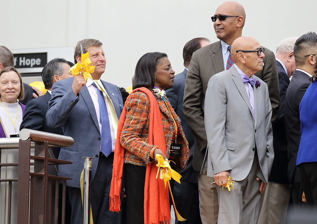 Los Angeles Metro Gold Line Extension Grand Opening