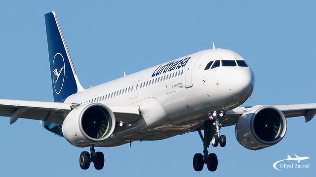 HAM - Lufthansa Airbus A320Neo D-AINM
