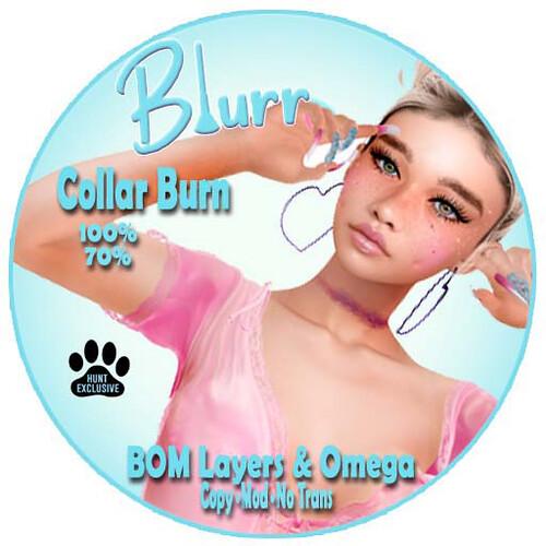 Blurr Ad Collar Burn DDOS HUNT #3