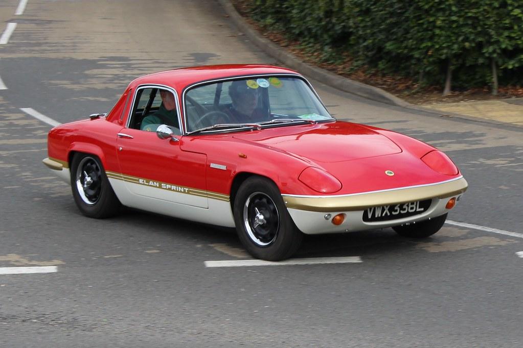 354 Lotus Elan Sprint FHC (1972) VWX 338 L