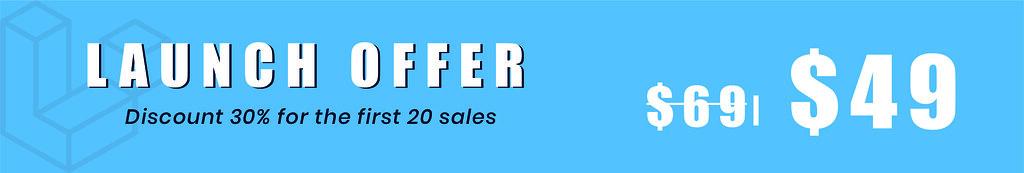 Sale off 30%