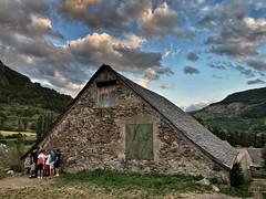Granero para juegos. Sallent de Gállego. Valle de Tena. Huesca.