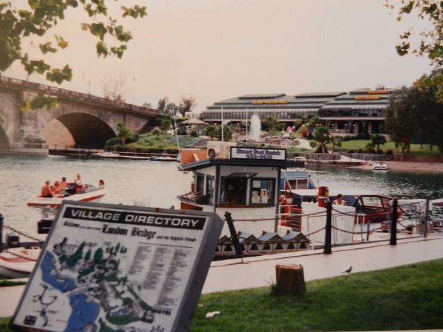 Hoover Dam & Havasu City, Mar.'90