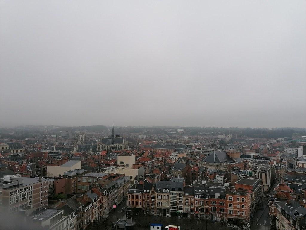 Vistas desde la torre de la biblioteca