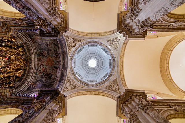Cúpula de la iglesia Colegial del Divino Salvador de Sevilla
