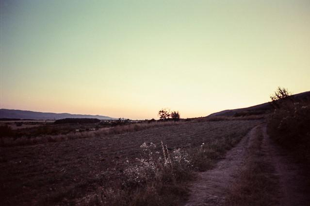 Sunset in Balkan Mountains