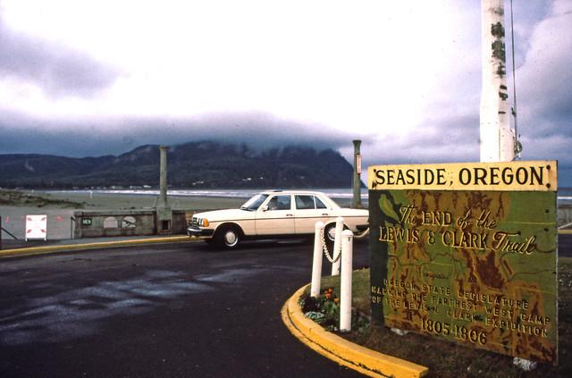 Seaside Oregon  July 25 1984