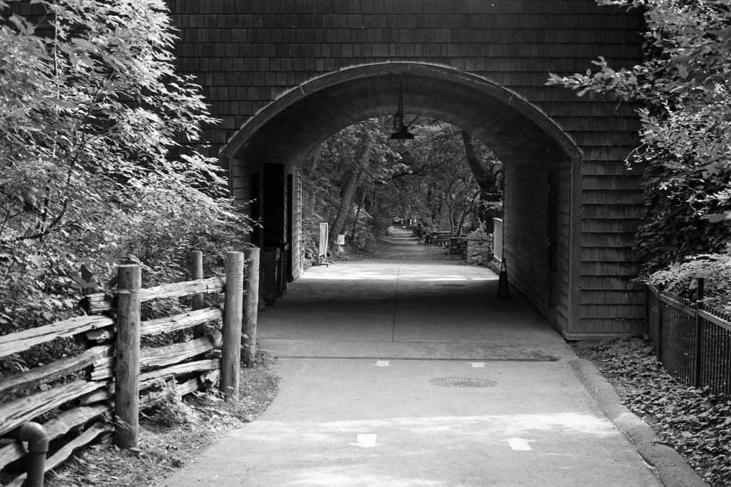 Arch Over the Path Down