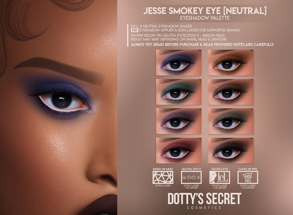 *GIVEAWAY* Dotty's Secret – Jesse Smokey Eye [Vibrant] x Blanc Event