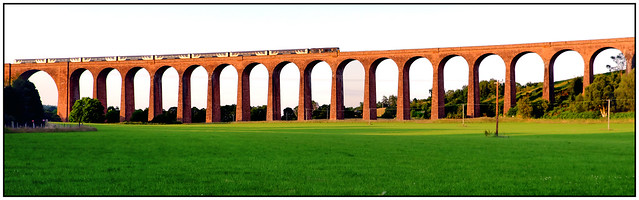 Crossing Culloden Viaduct
