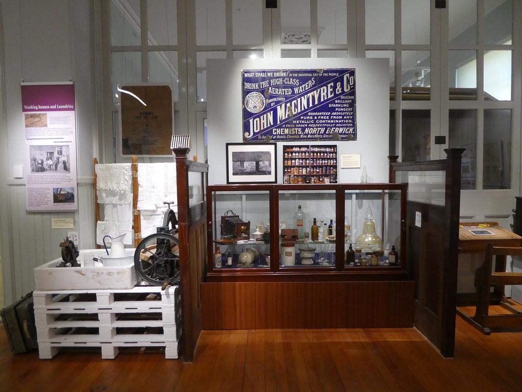 Inside North Berwick Museum