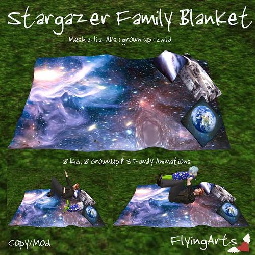 Stargazer Family Blanket