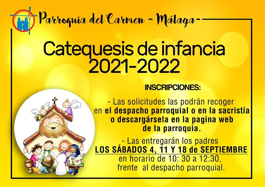 Catequesis de infancia 2021-2022