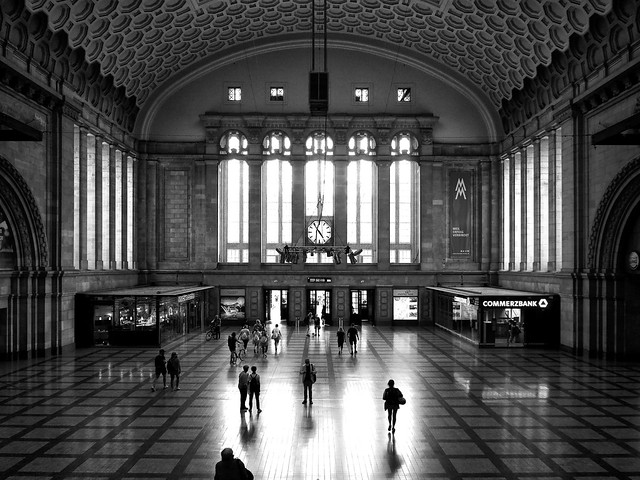 Leipzigs Hauptbahnhof