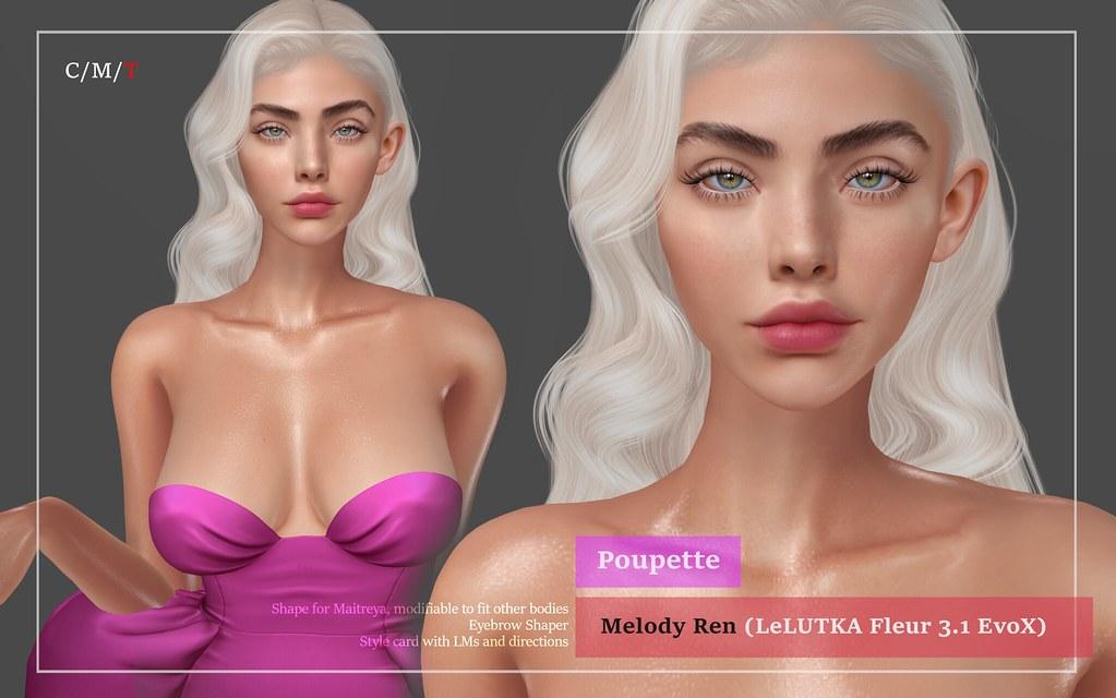 Melody Ren shape for LeLUTKA Fleur 3.1
