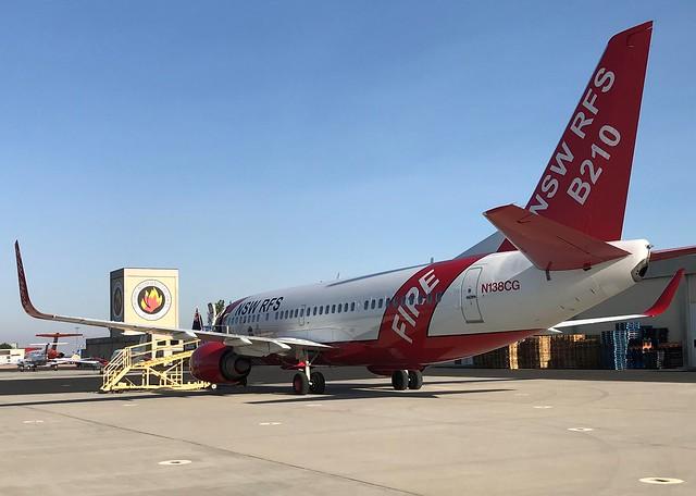 NIFC Welcomes Australian Airtanker