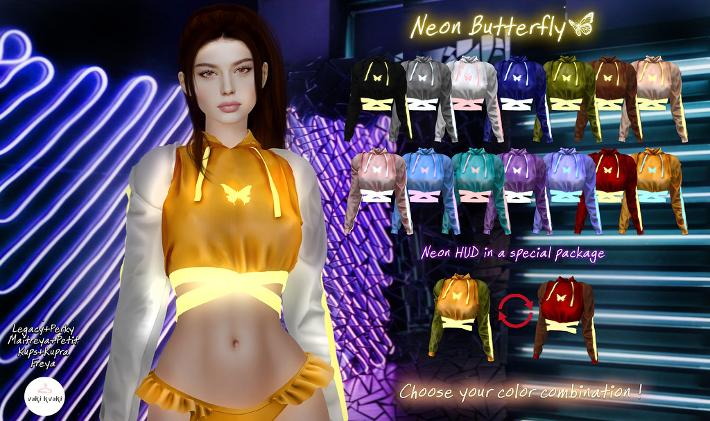 ~Neon Butterfly~ @Planet29