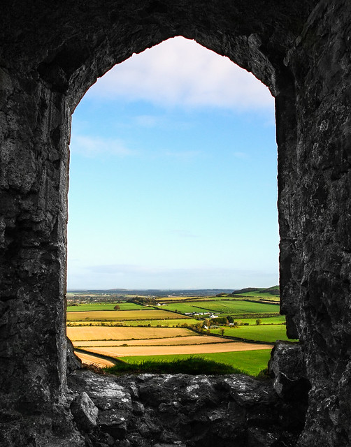 Room with a View - Dunamase Castle