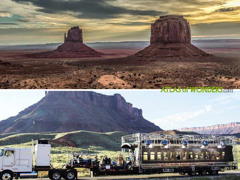Monument Valley railroad