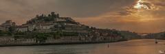 Desembocadura del Douro - Oporto- Panoramica(3 fotos horizontales)