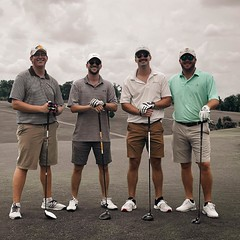 Golfing is not only a fun sport to bond with your team, but it also builds patience, character and relaxes you! Why not try your hand at golf next time you want to do something new? :wink: