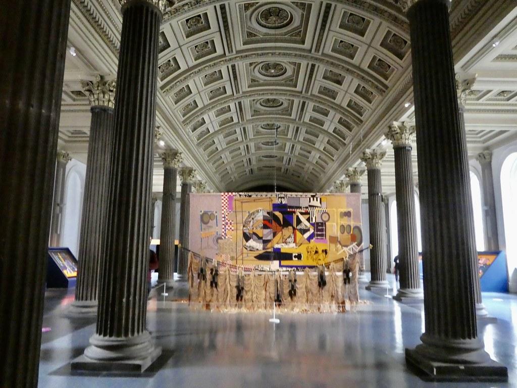 Inside the Gallery of Modern Art, Glasgow