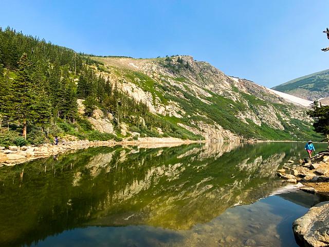 Reflections of Saint Mary's Glacier