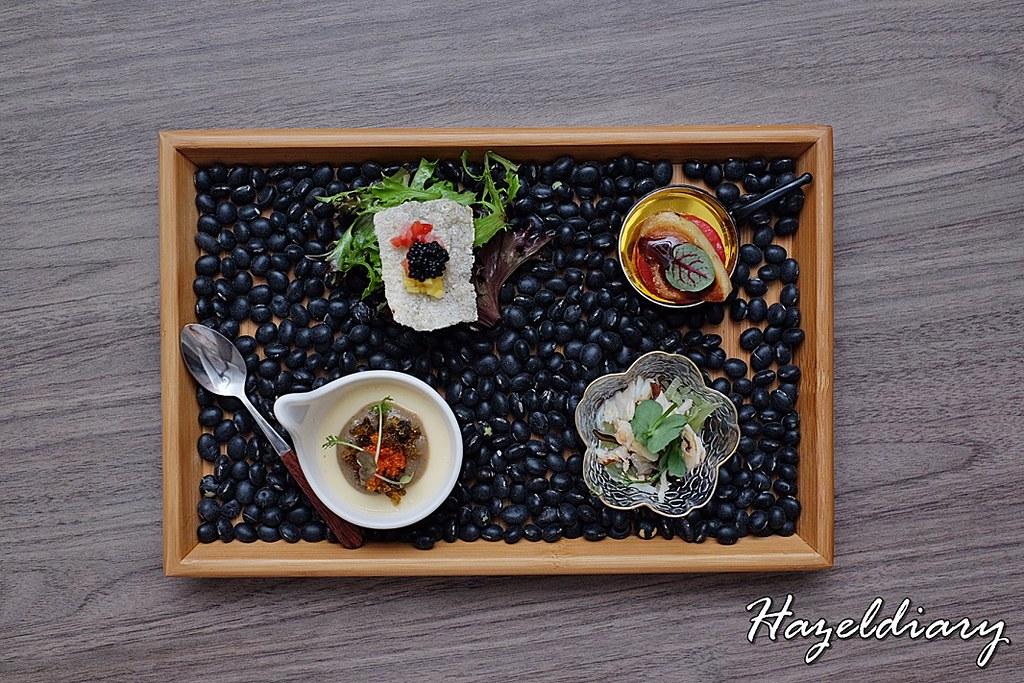 Si Chuan Dou Hua-Four Delicacies Combination