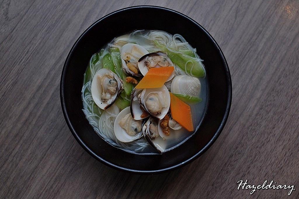 Si Chuan Dou Hua-Braised Vermicelli with Fresh Clam & Bittergourd