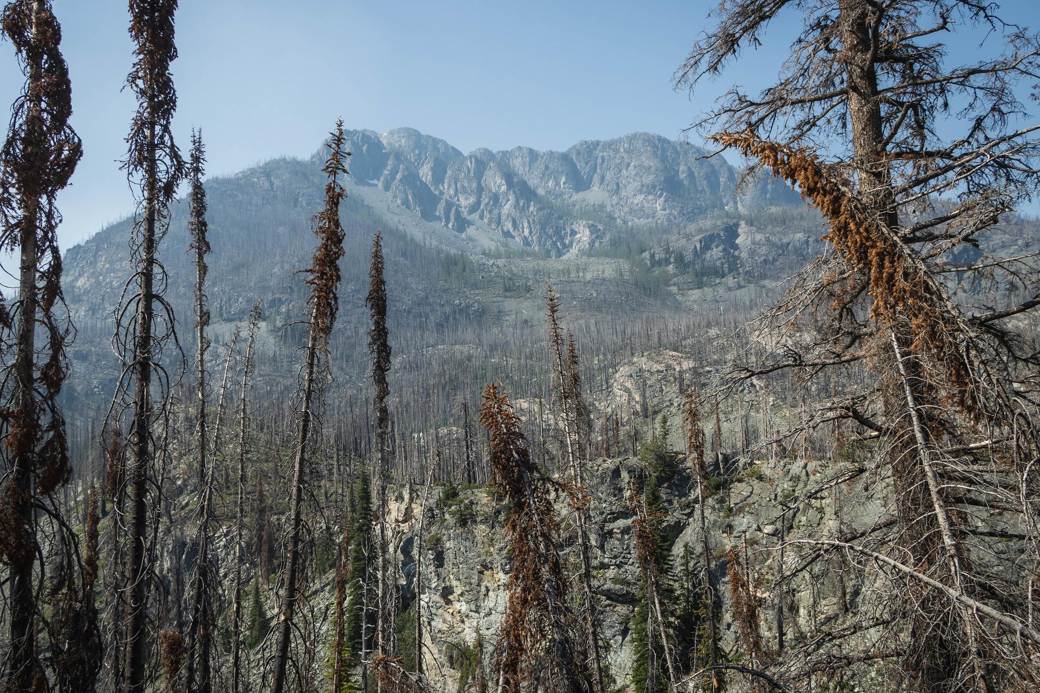 Eightmile Peak awaits