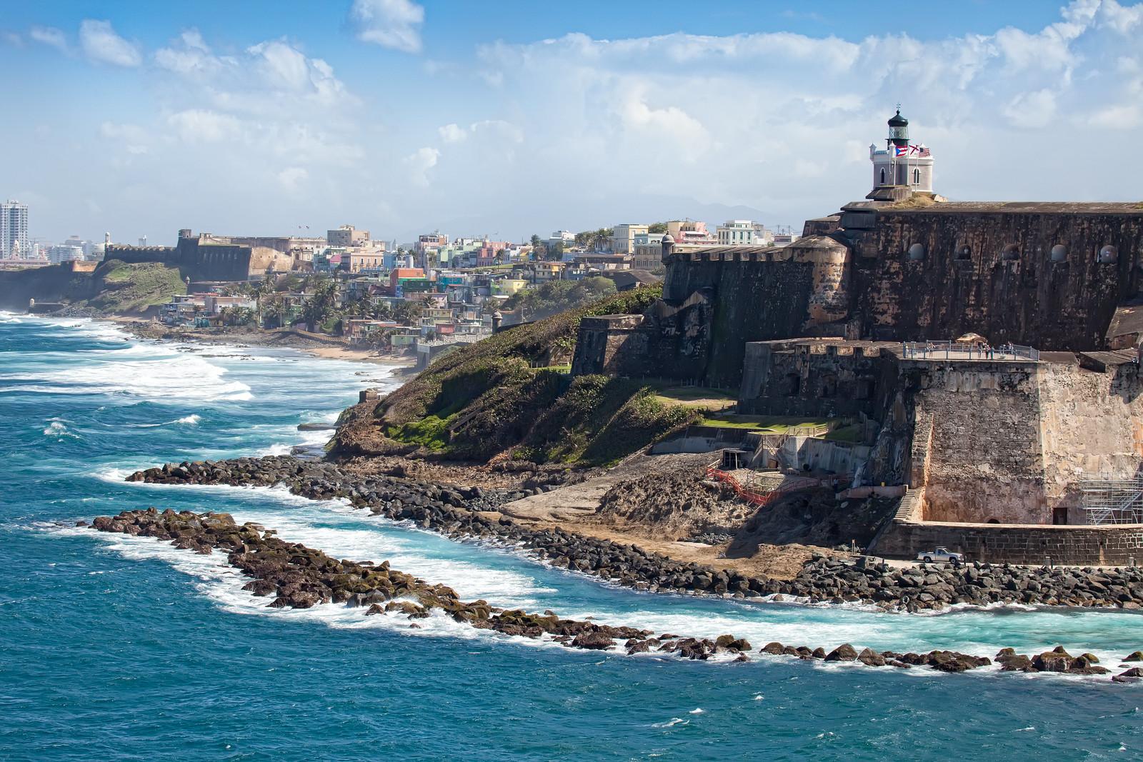 El Morro Castle in Old San Juan, Puerto Rico