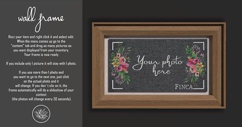 New group gift - Wall frame