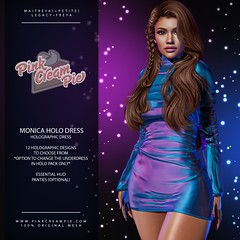 Monica Holo Dress @ Fly Buy Fridays 7/30
