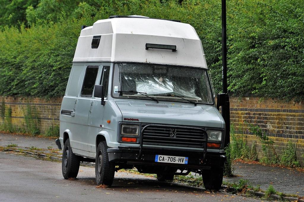1990's Peugeot 4x4 DangeL 2.5 Camper Van