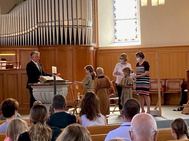 Familiengottesdienst vom 11.7.2021 in Stadel