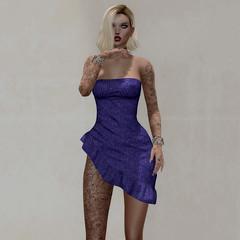 50L$ NEW!!! *P* Jessa Mesh Dress ~20 Dress Colors Hud~