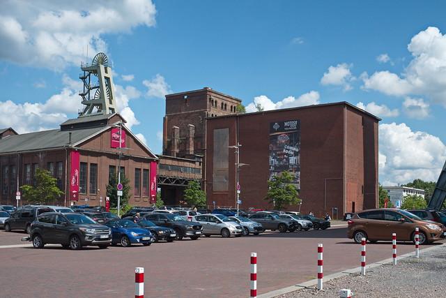 Heizzentrale, Schachtgerüst 2, Malakowturm (Schacht 1), Fördermaschinenhaus Nord Schacht 7