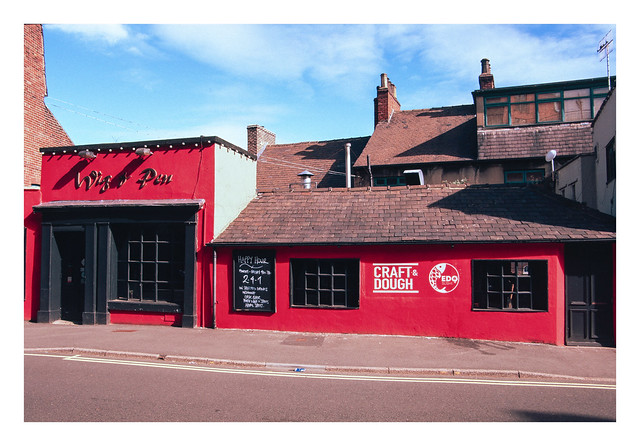 Red frontage