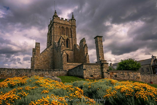 St. Hilda's & The Yellow Flowers