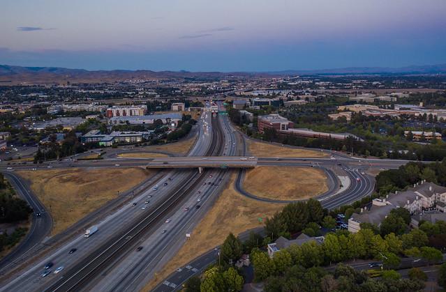 foothill road 580 interchange