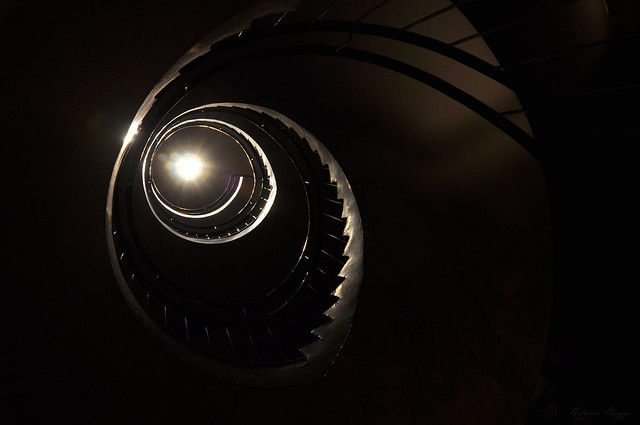 The light at the end of the stairs (Explored)
