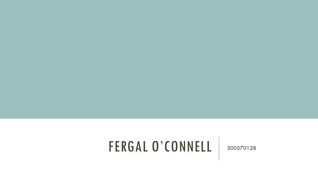 Fergal O'Connell Slide1